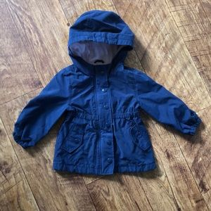 Old Navy twill utility jacket - size 18-24 months